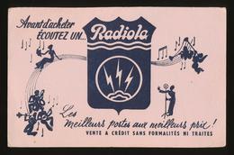 Buvard - RADIOLA - Meilleurs Postes Aux Meilleurs Prix - Blotters