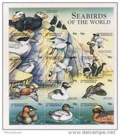 MDB-BK4-569 MINT ¤ DOMINICA 1998 12w In Serie ¤ SEABIRDS OF THE WORLD - OISEAUX - BIRDS - PAJAROS - VOGELS - VÖGEL -