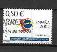 LOTE 1172  ///  ESPAÑA AÑO 2002   SALAMANCA - 1931-Hoy: 2ª República - ... Juan Carlos I