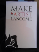 LANCOME Make Artist Cosmetique Carte - Modern (from 1961)