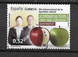 LOTE 1172  ///  ESPAÑA  AÑO 2013   DESIGUALDAD - 2011-... Usados