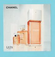 Cartes Parfumées Carte CHANEL COCO MADEMOISELLE De CHANEL A RABAT  RECTO VERSO AMÉRICAINE - Cartes Parfumées