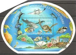 Wallis Und Et Futuna 2008 Annee Internationale De La Planete Terre Planet Erde Michel No. Bl. 22 (968) MNH Postfr. Neuf - Ungebraucht
