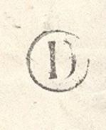 LOITET 45 BEAUGENCY LSC  TAD Type 17 Du 17/03/1871 GC 376 Sur N° 29 Boite Rurale D Non Indentifiée TTB - Postmark Collection (Covers)