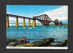 EDINBURGH - ÉCOSSE - SCOTLAND - FORTH RAIL BRIDGE - PHOTO E. NÄGELE BY JOHN HINDE STUDIO - Midlothian/ Edinburgh