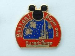 PIN'S BUITONI - SUPER AVEC EURODISNEY - Disney