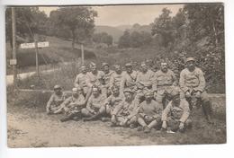 (n°460) CPA Photo 68  Carrefour SCHLUCHT  STOSSWEIR  Groupe 270  De Soldats 1914 1918 Format Carte Postale - Guerre, Militaire