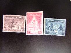 RUANDA URUNDI 1937 Indigena Muhutus Yvert 111 / 13 * MH - Ruanda