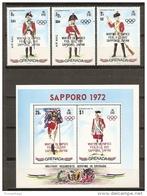 JUEGOS OLIMPICOS - GRENADA 1972 - Yvert #418+A1/2+H20 - ** MNH