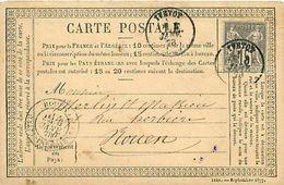 Cpa Précurseur 1878 De YVETOT 76 à Rouen - Yvetot