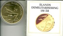 5 EUROS FINLANDIA 2006 DESMILITARIZACION - Finlandía