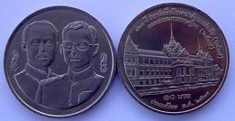 THAILANDIA TAILANDIA 10 BAHT MONETA COMMEMORATIVA FDC UNC - Tailandia