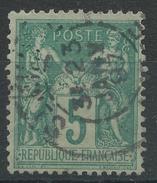 Lot N°34189  N°75, Oblit Cachet à Date A Déchiffrer - 1876-1898 Sage (Type II)