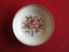 Antique Small Porcelain Royal Worcester - With Best Wishes From Edgar Purkhardt Christmas 1955 - Royal Worcester