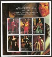 Antigua & Barbuda 2000 Yvertn° 2644-2649 *** MNH Cote 10,50 Euro Peintre Antoine Van Dyck Anthony - Antigua Et Barbuda (1981-...)