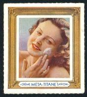 Vignette 'Crème META-TITANE Savon'  ..Réf.FRA28842 - Erinnophilie