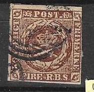 Mi 1I Kw   70e - 1851-63 (Frederik VII)