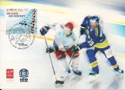 2008 Schweiz  Mi. 2046  100 Jahre Schweizerischer Eishockeyverband. - Maximumkarten (MC)