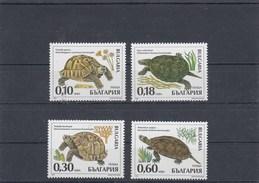 Bulgarie - Reptiles - Neufs** - Année 1999 - Y.T. N° 3836/3839 - Nuovi