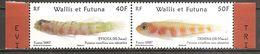 Wallis Und Et Futuna 2007 Poissons Endemiques Endemische Fischarten Michel No. 948-49Z Se Tenant Pair MNH Postfr. Neuf - Wallis Und Futuna