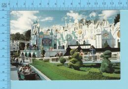 Disneyland -Fantesylands, Topiary Animals - 2 Scans - Disneyland