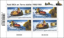 TAAF 2015  - Raid Motoneige Souvenir Sheet Mnh - Otros (Tierra)