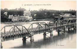 22 LE GUILDO - Le Pont Et Le Vieux Guildo - Saint-Cast-le-Guildo