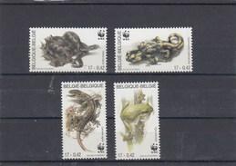 Belgique - Reptiles Et Amphibiens - Neufs** - Année 2000 - Y.T. N° 2895/2898 - Belgio