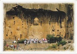 CHINA GIANT BUDDHA IN LONGMEN GROTTOES/HENAN - Cina