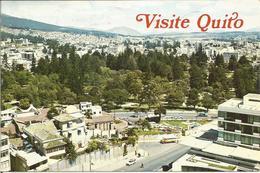QUITO, ECUADOR -  El Parque De El Ejido.  ( Scan Veerso). - Equateur
