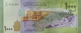 SYRIA 1000 SYRIAN POUNDS 2013 (2015) P-116 UNC  [SY631a] - Syria