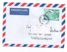France 2007 - Postage Used Cover By  Air Mail In Czech Rep.
