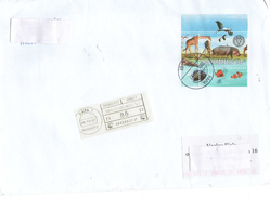 Hungary 2007  -  Postage Used Cover By Registered Air Mail In Czech Rep.