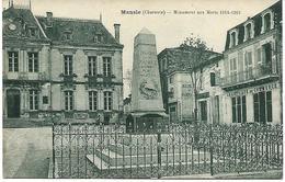 MANSLE - Monument Aux Morts 1914-1915 - Mansle