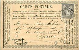 Cpa Précurseur 1878 De ECUEILLE 36 à Tours - France