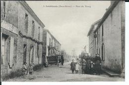 79 - LOUBLANDE - T.Belle Vue Animée Du Haut Du Bourg ( Attelages ) - Andere Gemeenten