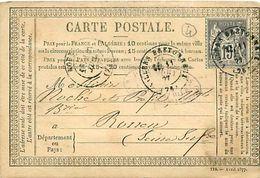 Cpa Précurseur 1877 De VILLERS BRETONNEUX 80 à Rouen - Villers Bretonneux