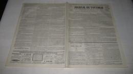 PAMIERS , LAPENNE , LA BASTIDE-DE-LORDAT , DES LOUPS EN ARIEGE - 1844 ( JOURNAL DE TOULOUSE.) - Journaux - Quotidiens