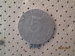 INDONESIA 5 Rupiah 1970 # 2 - Indonesia