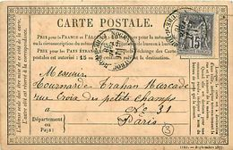 Cpa Précurseur 1878 De NOGENT LE ROTROU 28 à Paris - Nogent Le Rotrou
