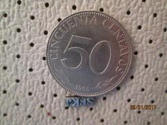 BOLIVIA 50 Centavos 1965 # 2 - Bolivia