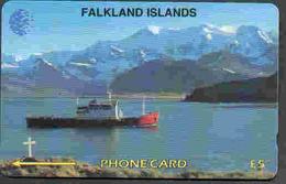 TK 8994 FALKLAND ISLANDS - Magnetic 5CWFA...