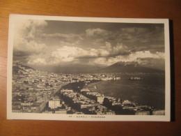CARTOLINA FORMATO PICCOLO VERA FOTOGRAFIA N°  67  -NAPOLI  PANORAMA - Napoli