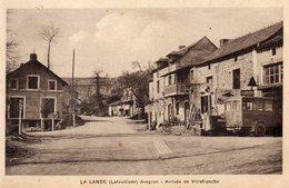 LA LANDE Lafouillade (Aveyron) Arrivée De Villefranche - France