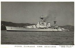 HOOD CUIRASSE HMS BOAT BARCO BOOT BOAT - Warships