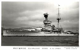 REVENGE  CUIRASSE HMS BOAT BARCO BOOT BOAT - Krieg