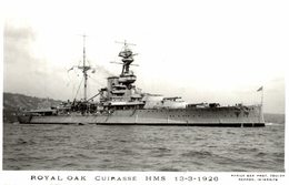 ROYAL OAK  CUIRASSE HMS BOAT BARCO BOOT BOAT - Krieg
