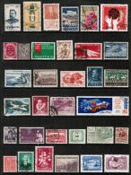 WORLDWIDE---Collection Of USED DL-300 - Timbres