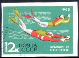 773 Russie Plongee Diving Diver Non Dentele Imperforate (R-RUK-59)