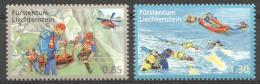 Liechtenstein 2010 - MNH - Diving, Rescue Services